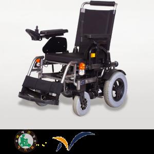 [케어라인]나래100 국산고급전동휠체어 (직물시트,편안한 착좌감,기동성)