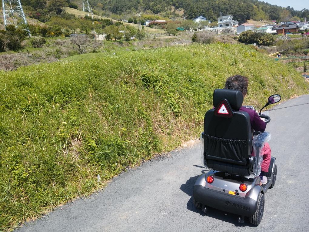 [나드리210] 경남 통영 노인전동차 장애인전동차 노인스쿠터 전동휠체어 노인전동스쿠터 장애인전동스쿠터 후기